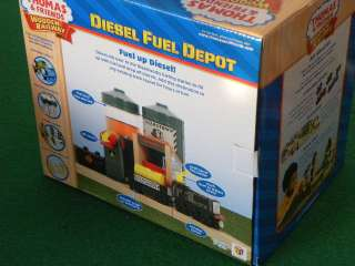 NEW*BRIO ELC wooden DIESEL DEPOT FOR THOMAS Train Set *NEW*