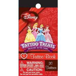 Disney Princess Tattoo Book 20ct: Toys & Games