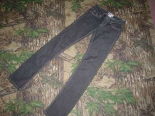 So Junior Girls Stretch Black Skinny Jeans Size 0 Avg