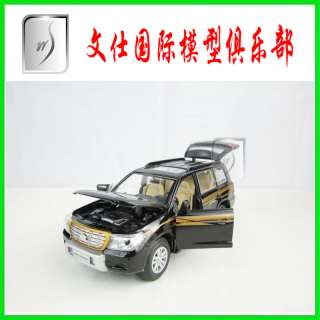 32 China Toyota Land Cruiser LC200 SUV(Black)Diecast pull back car