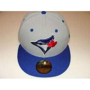 2012 Toronto Blue Jays New Logo Grey Flip Custom New Era Cap Hat 7 1/4