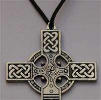 Extra Large CELTIC Cross ~ Detailed Pendant Necklace