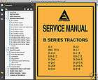 Series Tractors SERVICE Repair MANUAL B1 B10 B12 B110 B207 B210