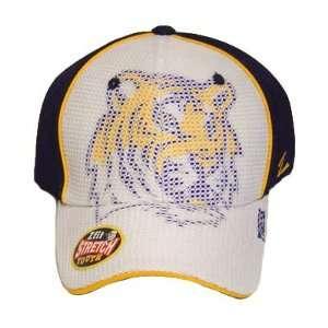 NCAA LOUISIANA TIGER FLEX FIT STRETCH YOUTH HAT CAP LSU