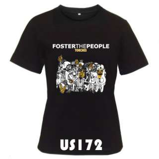 Foster The People Torches Black White T Shirt S 3XL