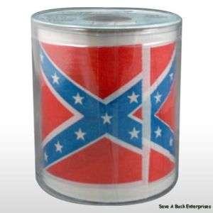 REDNECK REBEL CONFEDERATE FLAG FUNNY TOILET PAPER ROLL