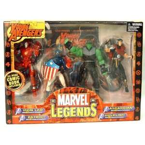 Marvel Legends Young Avengers Action Figure Gift Pack Toys & Games