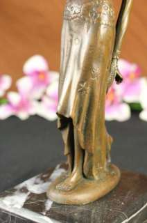 Chiparus Belly Dancer Bronze Sculpture Statue Figurine Marble