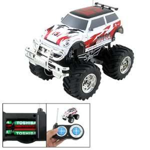 Light RC 4x4 Truck Humvee Radio Remotr Control Racing Car Toy 49MHz