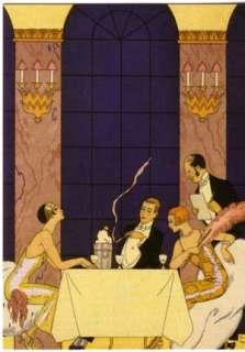FASHION GALLERY Art Nouveau Greeting Cards Folio NEW