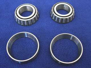 TIMKEN BEARINGS & RACES FOR HARLEY TRIPLE TREES AND FORKS