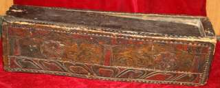Name Amazing Authentic Old Antique Tibetan Buddhist Carved Painted