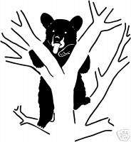 Bear Decal St #8 Wildlife Hunting Truck Stickers 6