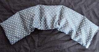 CLEARANCE 6X26 NECKROLL CORN BAG HEATING PAD BED WARMER