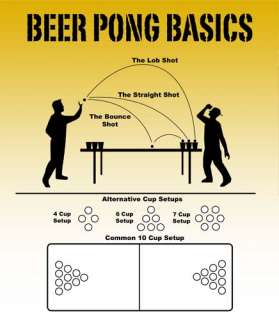 Brewski Brothers Beer Pong Balls 144 Count Lot Ping Pong Table Tennis