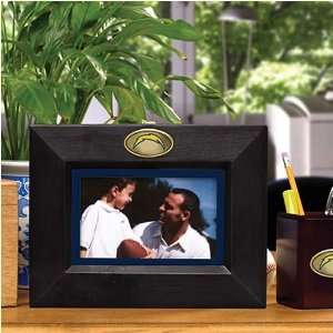 San Diego Chargers Black Wooden Landscape Picture Frame