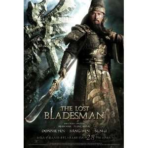 The Lost Bladesman Poster Movie 11 x 17 Inches   28cm x