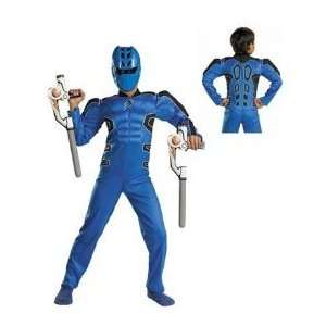Jungle Fury Blue/Power Ranger/Muscle Costume: Everything