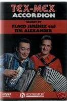 Learn How To Play Tex   Mex Accordion Tutor DVD Lesson