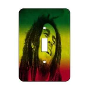 Bob Marley Rasta Light Switch Plate Cover Brand New