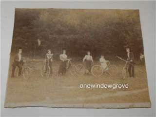 Women Men & Children with BIKES Bicycles WERNERSVILLE PA~