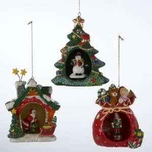 Club Pack of 12 Bobbling Christmas Friends Porcelain
