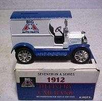 Ertl DieCast Bank 1912 DELIVERY TRUCK Big A Auto Parts