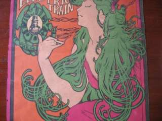 Rock poster Jim Kweskin jug band Big Brother & Holding Co Janis Joplin