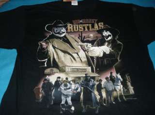 ICP Insane Clown Posse Money Rustlas T shirt XL 2X 3X