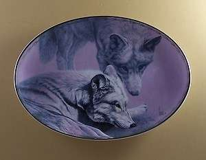 NATURES TENDERNESS Plate SWEET INTENTIONS Wolf Lee Cable Second Issue