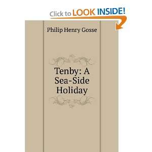 Tenby A Sea Side Holiday Philip Henry Gosse Books