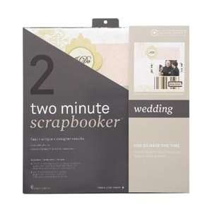 Minute Scrapbooker 12 Inch x12 Inch Page Kit   Wedding Home & Kitchen
