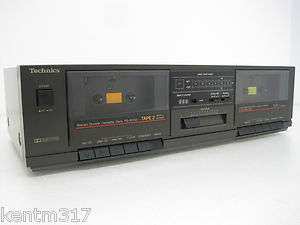 Technics Stereo Double Cassette Deck Player RS B17W