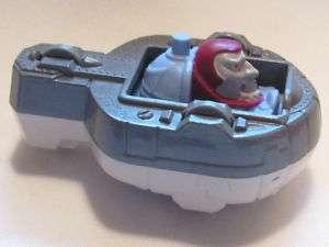 1990 diecast metal DIC TBS Captain Planet Burger King Flip Toy Space