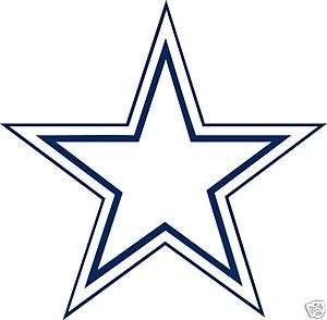 DALLAS COWBOYS Logo Window Wall STICKER Car DECAL