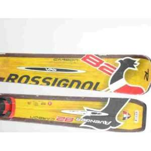Rossignol Avenger 82 Carbon Snow Ski C Chips/Slices Sports & Outdoors