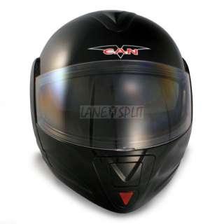 Vcan BLINC 210 Flip Face Modular Bluetooth Helmet (BLACK, Large)