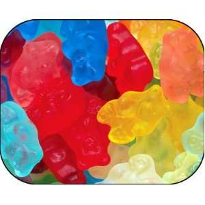 Gourmet (12 Flavors) Gummi Gummy Bears Candy 1 Pound Bag: