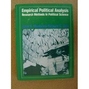 methods in political science (9780132746052) Jarol B Manheim Books