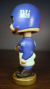 NEW YORK GIANTS FOOTBALL BOBBLE HEAD DOLL, Bobbing, Nodder c1962 Japan