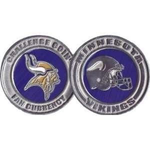 NFL Minnesota Vikings Challenge Coin Poker Card Cover