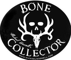 Bone Collector Black Out Logo WINDOW DECAL TRUCK AUTO