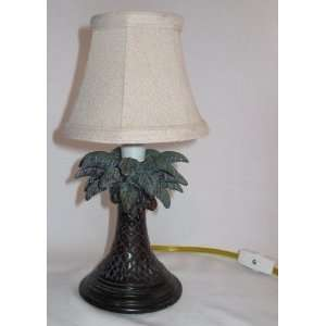 Decorative Small Palm Tree Lamp 10 in Tall Everything Else