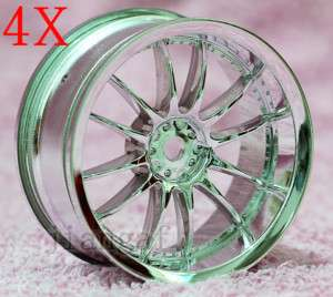 4PCS 1/10 RC Car Wheel Rim Sports,26MM, L0KE