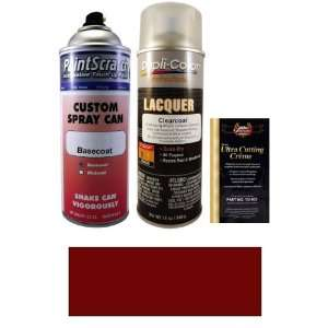 12.5 Oz. Dark Red Metallic Spray Can Paint Kit for 2004 Toyota Camry