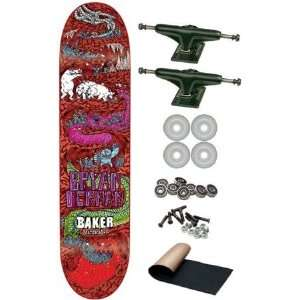Baker Bryan Herman Super Jack Complete Skateboard New on