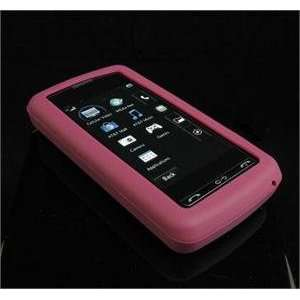 BURGUNDY FULL VIEW Silicone Skin Cover Case w/ Screen Protector for LG