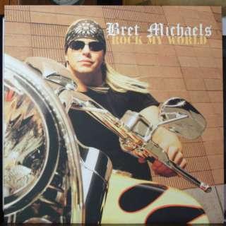 Bret Michaels Poison Rare Harley Davidson Poster