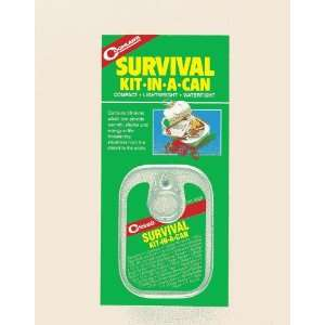 Coghlanss Survival Kit in a Can Mini Survival Kit: Home Improvement