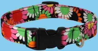 Flower Power Handmade Custom Designer Dog Collars